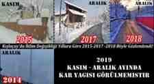 Kışlaçay'da İklim Değişikliği Felaketi Böyle Gözlemlendi!(VİDEO)