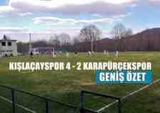 Kışlaçayspor 4-2 Karapürçekspor Maç Sonucu( Maç Özeti)