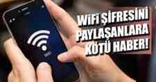 Wifi Şifresini Paylaşanlara Kötü Haber!Manevi Tazminat…