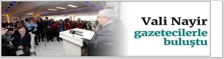 Vali Ahmet Hamdi Nayir Gazetecilere 2019'u Özetledi!