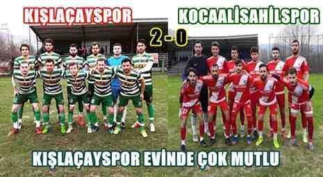 Kışlaçayspor 2 – 0 Kocaalisahilspor | İyi Başladık..