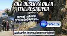 Kayan Kayalar İçin Muhtarlar Yetkililere Seslendiler!(Video)