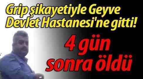 Boğazköy'lü Güngör Uğur (Grip) Şikayeti İle Gitti Vefat Etti!