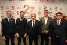 BBP'nin 27.Kuruluş yıldönümüne Arifiye'den katıldılar.