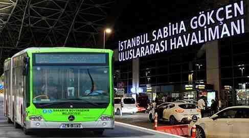 Sakarya'dan Sabiha Gökçen'e Otobüs Seferleri!