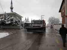 Arifiye Belediyesi Kışlaçay Ve Boğazköy Rampası Mesaisi Tuzlanıyor!