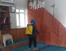 Kışlaçay'da Dezenfekte Çalışması Muhtarlık Tarafından Uygulandı!
