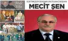 Elektrikçiler Odasının Unutulmaz Başkanı Mecit Şen