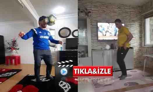 Kışlaçayspor'da Onu Yaparak Birbirlerine Meydan Okudular.(Video)