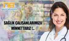 Başkan Karakullukçu; Tüm Sağlık Çalışanlarına Minnettarız…