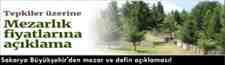 Sakarya Büyükşehir'den mezar ve defin açıklaması!