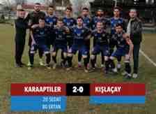 Karaaptilerakınspor 2-0 Kışlaçayspor 90 Dakika Futbol!