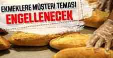 Sondakika ;Ekmeklere Müşteri Teması Engellenecek..