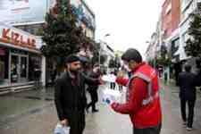 Büyükşehir 100 Bin Maskeyi Ücretsiz Dağıtıyor!