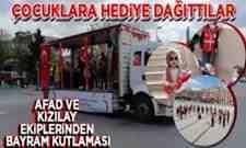 Sakarya'da 23 Nisan Coşkusu Sokakları Bayram Yerine Çevirdiler!