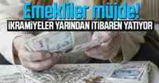 Emeklilerin İkramiye Ödemeleri Yarın Yatıyor!