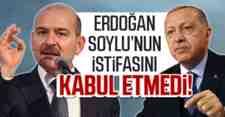 Erdoğan İstifayı Kabul Etmedi!