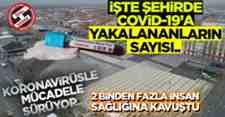 Sakarya'da Covid-19'A Yakalananların Sayısı!