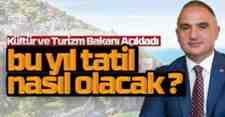 Türkiye'nin turizmde yol haritası belirleniyor!