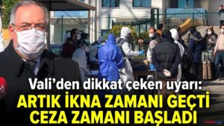 VALİ NAYİR MAALESEF RAKAMLARIMIZ ARTIYOR..