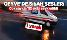 Geyve Şerefiye Mahallesinde silahlı saldırı! Kurşun yağdırdı
