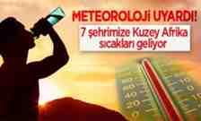 Meteorolojiden Uyarı Kuzey Afrika Sıcakları Geliyor..