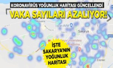 İşte Sakarya'da Yoğunluk Haritası Yayınlandı!