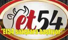 """""""Et54 Büyükşehir güvencesiyle satışlara başlıyor"""""""