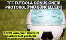 TFF Futbola Dönüş Öneri Protokolü'nü güncelledi.