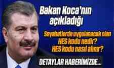 Sağlık Bakanı Fahrettin Koca'nın Açıkladığı Hes Kodu Nedir!