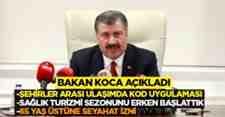 Sağlık Bakanı Fahrettin Koca Bilim Kurulu Toplantısı sonrası açıklama yaptı.