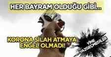 Her Bayramı Aynı Mahallede Silah Sesleri Duyuldu!