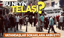 Vatandaşlar Sokaklara Akın Etti!Bu Neyin Telaşı