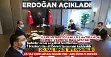 Cumhurbaşkanı Erdoğan açıkladı! İşte alınan tedbirler.