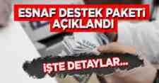 Başkan Ekrem Yüce Esnaf Destek Paketini açıkladı!