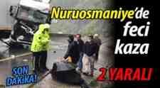Nuruosmaniye'de Feci Tır Kazası: 2 kişi yaralandı!