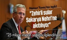 Zehirli Sular Sakarya Nehrine Akıyor!