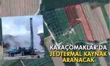 Arifiye Karaçomaklar Mahallesinde Jeotermal Kaynak Aranacak!