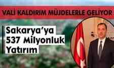 Yeni Vali Kaldırım'dan Sakarya'ya Yatırım Müjdesi