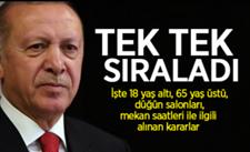 Erdoğan açıkladı… İşte alınan yeni kararlar!