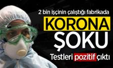 Sakarya'da her geçen gün korona haberleri artıyor.. Fabrikada Korona Şoku!