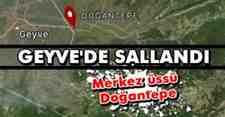 SON DAKİKA! Geyve Doğantepe'de deprem