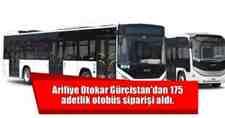 Arifiye Otokar Gürcistan'dan 175 adetlik otobüs siparişi aldı
