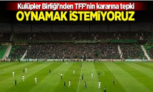 Kulüpler Birliği: Ligler oynanmadan sonlandırılmalı!