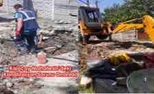 Kışlaçay Mahallesin'deki Kanalizasyon Sorunu Onarıldı!