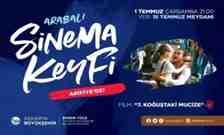 Arabalı sinema etkinliği bu akşam Arifiye'de!
