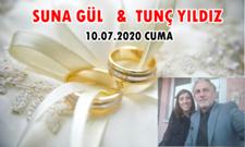 Suna Gül & Tunç Yıldız Çifti Mutlu Günümüzde Sizleri de Bekleriz..