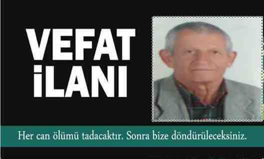 Boğazköy Mahallesi Eşraflarından Ahmet Ürker Vefat Etti!