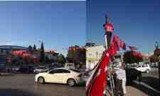 Chp Arifiye İlçe Başkanlığı Arifiye Caddelerini Türk Bayraklarıyla Süsledi!