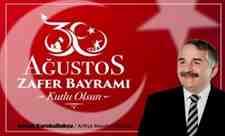 Başkan Karakullukçu'dan 30 Ağustos Zafer Bayramı Mesajı!